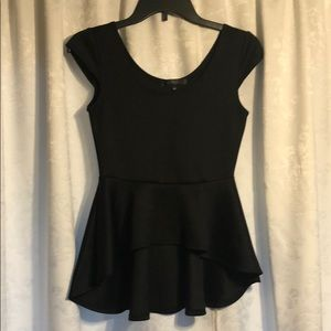 Black High Low Top Medium Juniors by Have